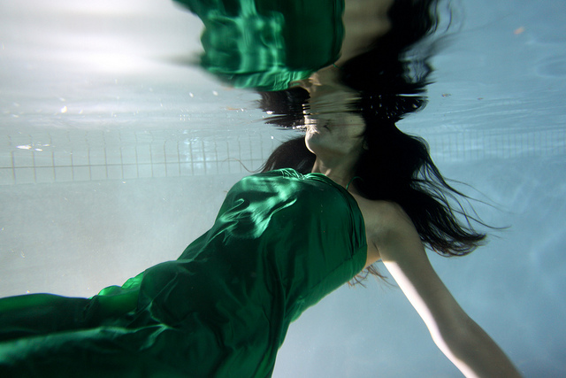 """Biz and Sport under the water #48"" © Aurora Chisté"