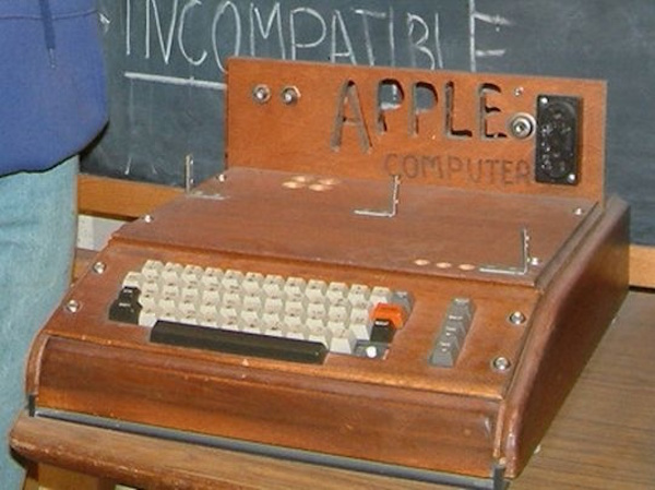 """""""Apple I at the Smithsonian Museum"""" © rebelpilot; Creative Commons license"""