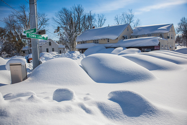"""""""Historic Lake Effect Snow in Buffalo New York Area"""" © Anthony Quintano; Creative Commons license"""