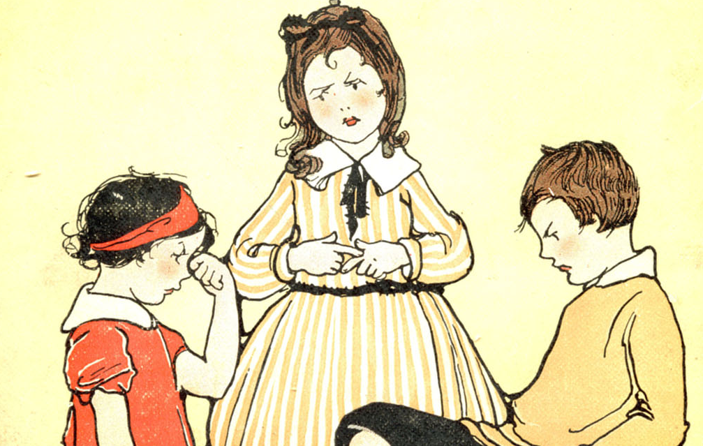 The Good-Naughty Book (detail) by Blanche Fisher Wright