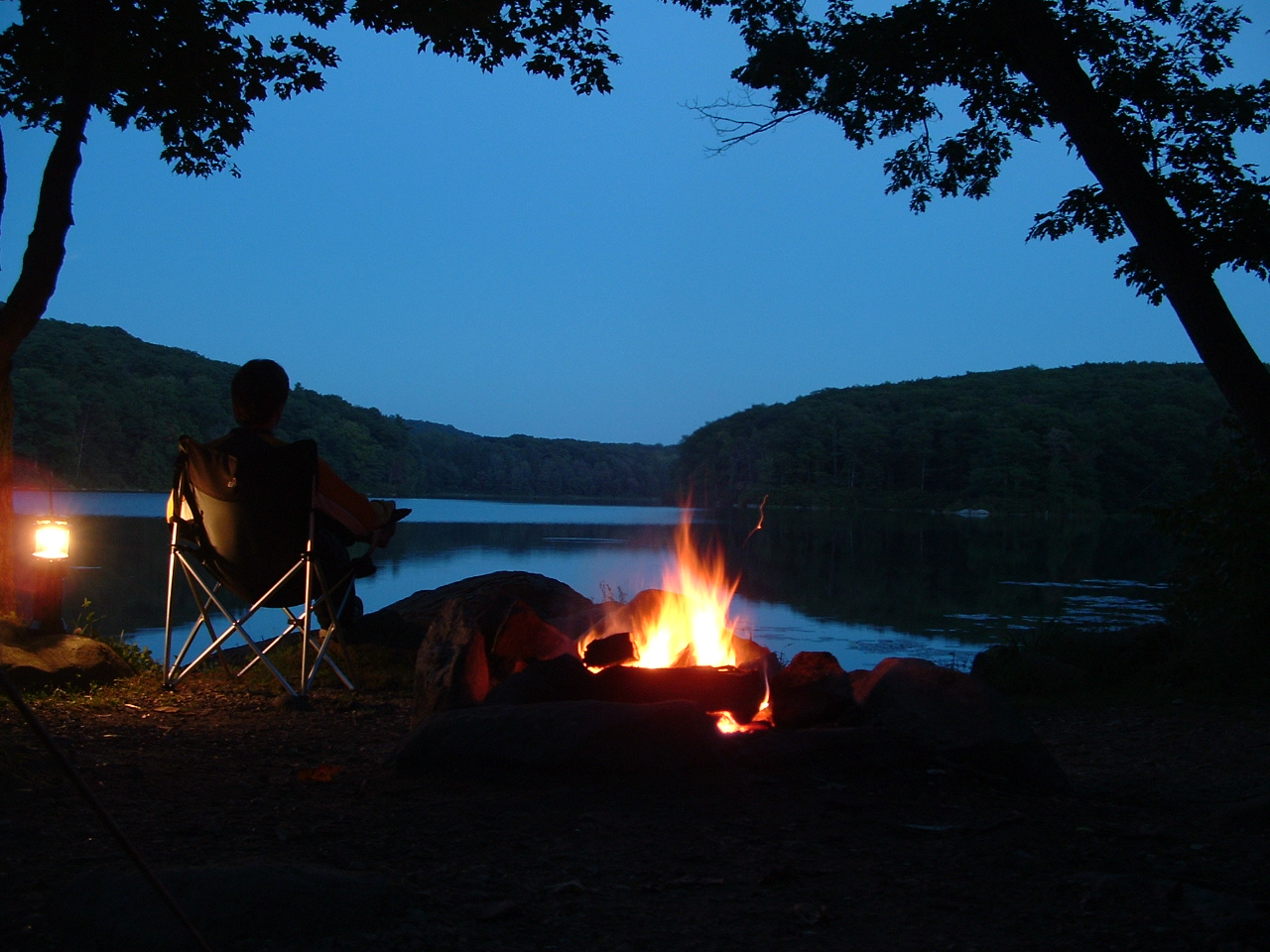 """By the Campfire"" © Drew Bryden"
